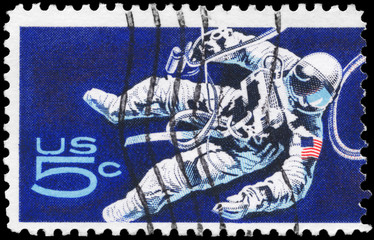 USA - CIRCA 1967 Astronaut