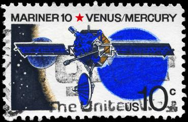 USA - CIRCA 1975 Mariner 10