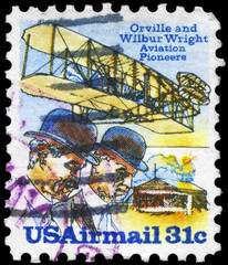 USA - CIRCA 1978 Wright Brothers