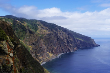 Calm cost of Madeira