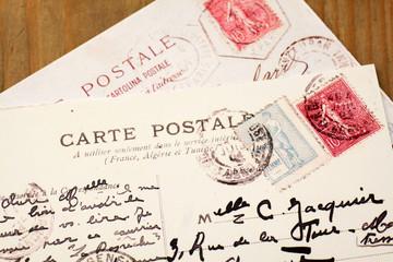 Alte französische Postkarten