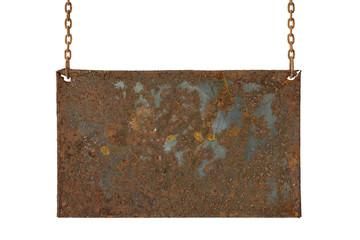 empty rusty board