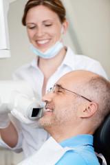 röntgen beim zahnarzt