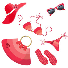 set for women_red