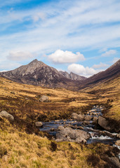 Glen Rosa on the Isle of Arran, Scotland (portrait)