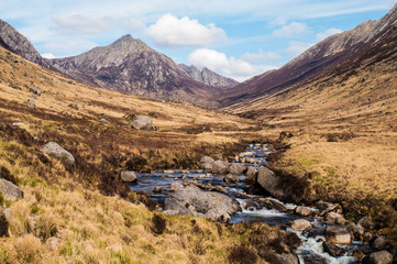 Glen Rosa on the Isle of Arran, Scotland
