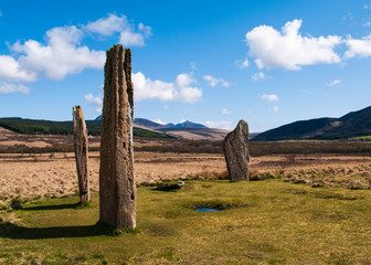Machrie Moor stone circle - Isle of Arran, Scotland