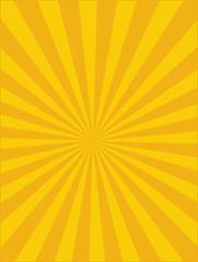 Vector Circus background, Yellow-Orange, Sun light