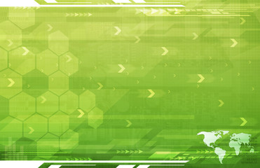 A Global Business Abstract green Background Art Texture