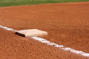 Baseball Field Third Base