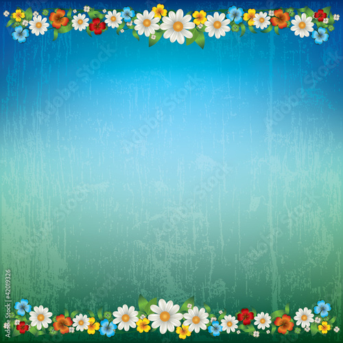 Abstract Spring Floral Background Stock Image And Royalty