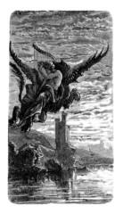Papiers peints Dragons Riding the Dragon