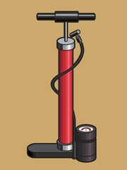 Bicycle Hand Air Pump