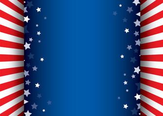 Stars decorative frame