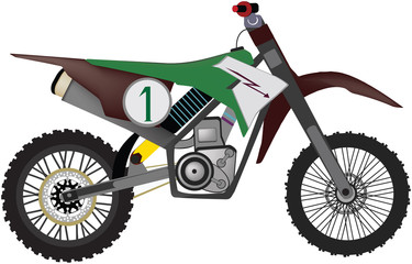 Keuken foto achterwand Motorfiets moto