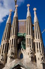 La Sagrada Familia, Barcelona, Spain (en travaux)