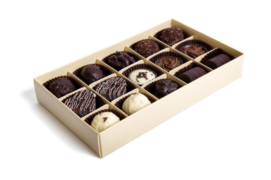 Chocolate Candy in the box