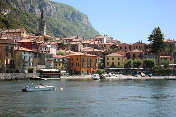 Town of Varenna in Lake Como, Italy