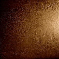 Foto auf Leinwand Leder leather background