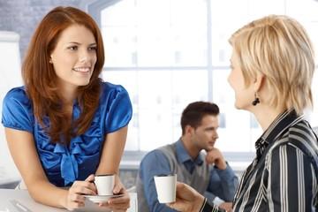 Businesswoman on coffee break
