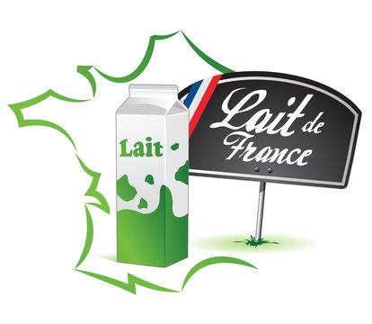 lait français