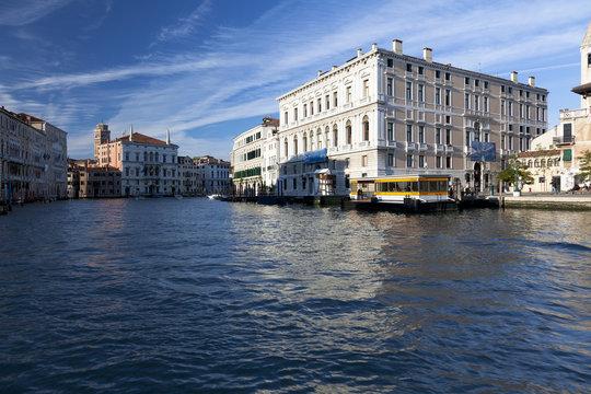 Buildings along Venice's Grand Canal