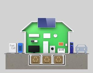 smart house concept (without description)