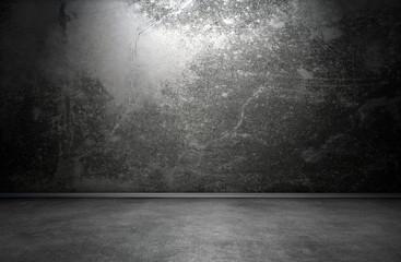 Dark room interior