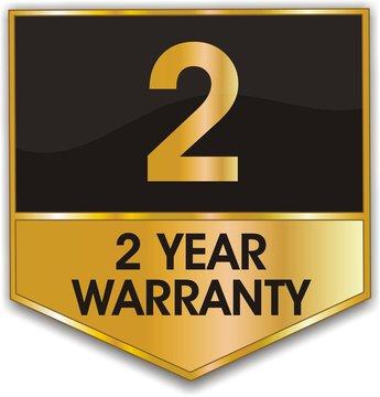 bouton 2 year warranty