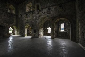 Doune Castle  main room