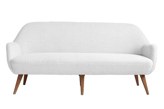 Modern armchair with isolated white color backgraound and cut ou