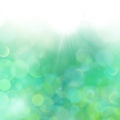 Light Green-Blue abstract background Airmar 3,light bokeh