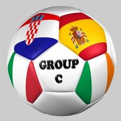 balón banderas grupo C euro copa 2012