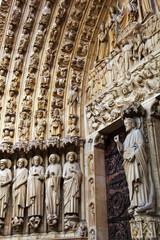 Paris, Frankreich. Notre Dame