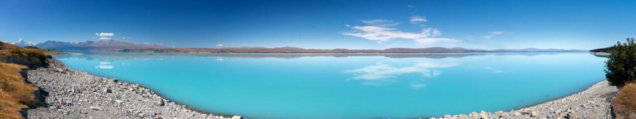 Lake Pukaki Panorama, New Zealand