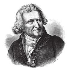 Antoine-Augustin Parmentier, vintage engraving.