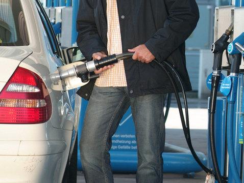 Tanken mit Gas