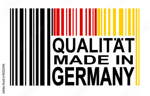 Strichcode Deutschland