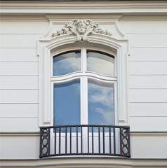 Fenster einer Villa