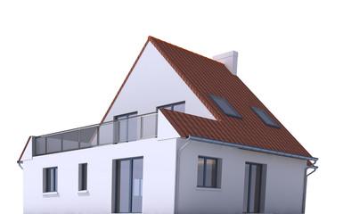 Architecture model, house f