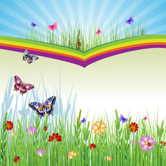 Springtime background