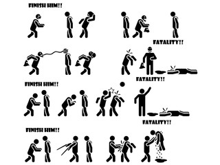ICON MAN MORTAL KOMBAT FATALITY 3 DI 3