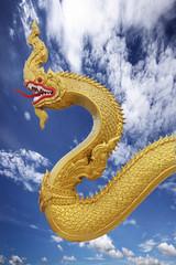 Papiers peints Dragons Statue Nagas