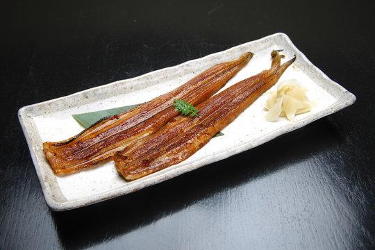 Broiled eels