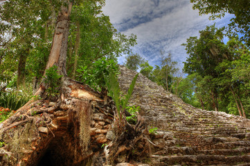 Coba Maya Ruins - Mexico