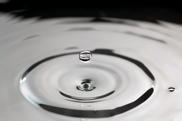 Transparent droplet