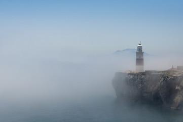 Gibraltar Lighthouse in the Mist