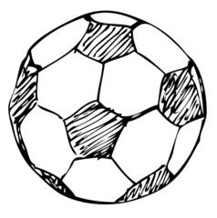 Fußball Doodle