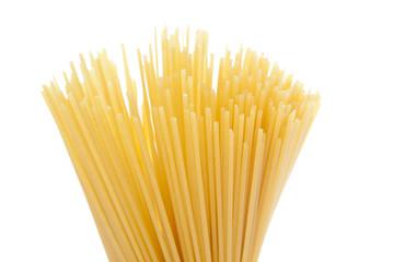 Bundle of dry spaghetti