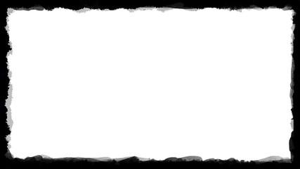 Unique Black and White border frame 03